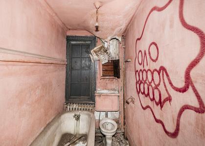 Bathroom Skull (5th Street Victorian Series)