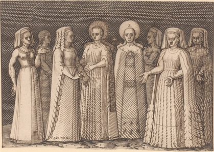 Eight Ladies in Ancient Costumes