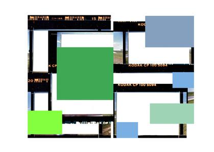 Folio au carré vert (d'après Sur l'autoroute 20 est)