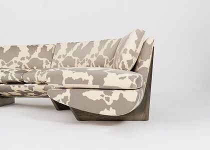 Whalebone, Curved Sofa with Removable Ottoman