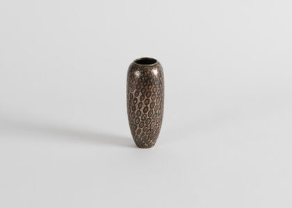Conical Dinanderie Vase