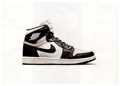 Nike Air Jordan Original Black and White