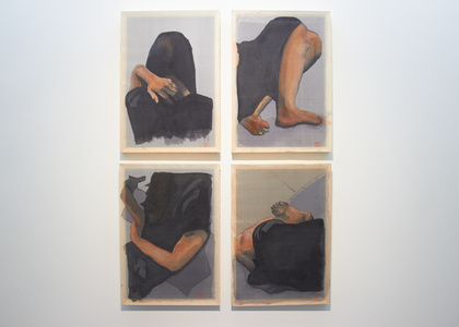 Configurations in Black (After Nguyễn Phan Chánh)