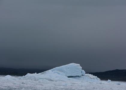 Ved Eqip Sermia gletscheren