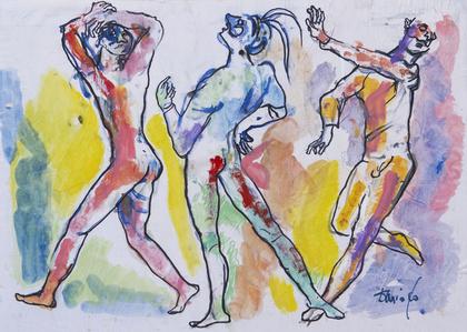Gli zanni che danzano