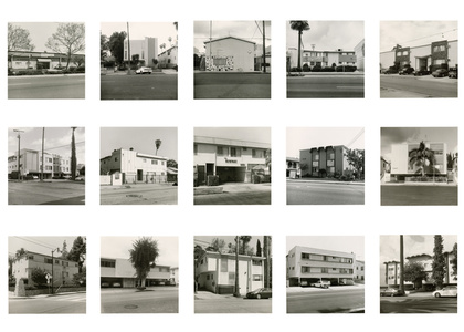 We all loved Ruscha, 15 Apts
