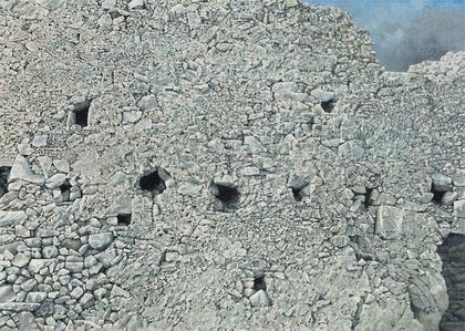 Ruined Wall at Paliochora