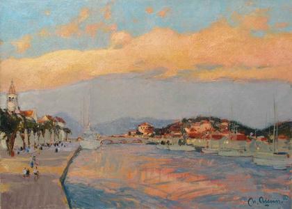 Evening in Trogir