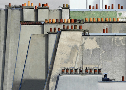 #4, Paris Roof Tops