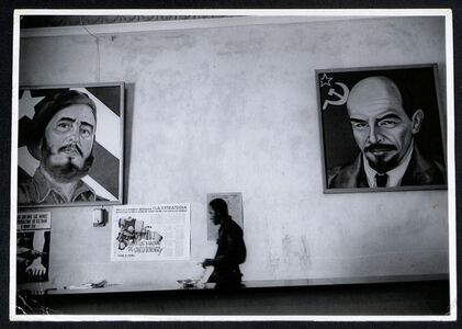 Between Castro and Lenin, Havana