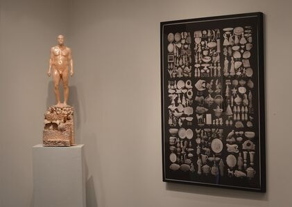 Artifact with Figurine, (from the installation at the Philadelphia Museum of Art)