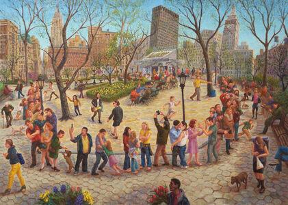 Madison Square Park, Shake Shack Line