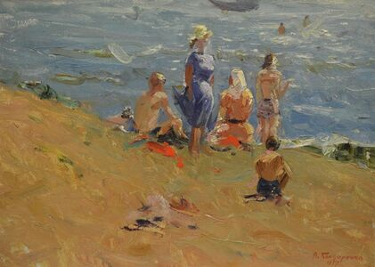 In the Asov Sea