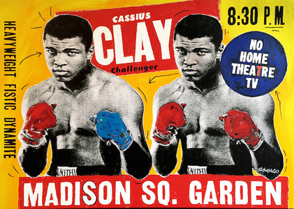 Double Ali Fight Poster