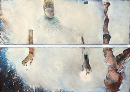 Angel Of Blue - Diptych