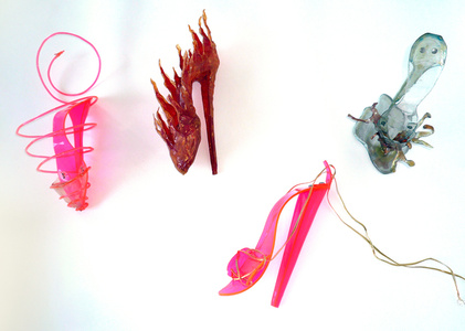 Shoe Sculpture 1-4