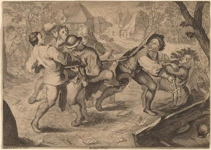 Peasants Fighting