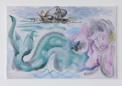 Mermaid and Ship