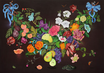 A Swag of Fruits and Flowers 2