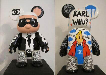 Qee Bear Karl - Tintin