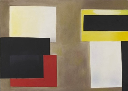 Black, Red, Yellow and White