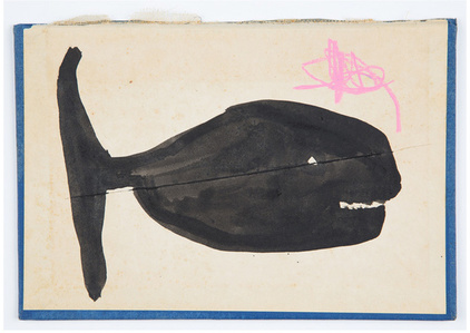 Whale with Pink