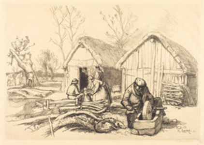 The House of the Woodcutter, Vendee (La maison du bucheron, Vendee)