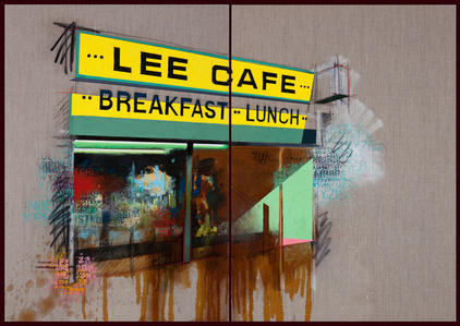 Lee Cafe (diptych)