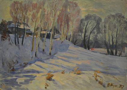 March in Rostorguyevo