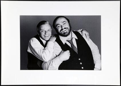 Frank Sinatra and Luciano Pavarotti