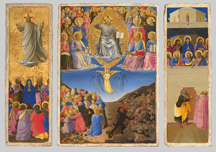 Corsini Triptych (Ascension, Last Judgment, Petecost)