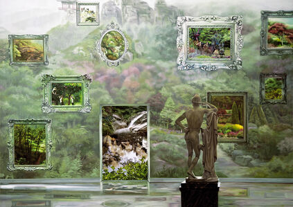 The Costume of Painter - Garden 2
