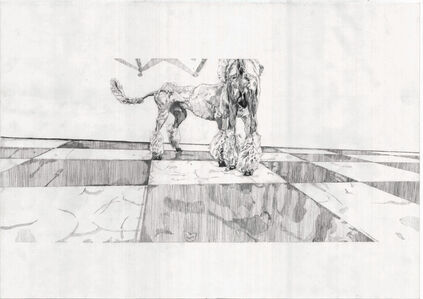 Drawing Scene (Poodle)
