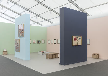 Offer Waterman  at Frieze New York 2018