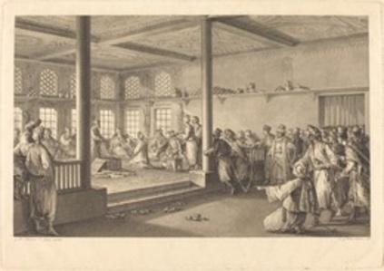 Réception de Choiseul-Gouffier chez Hassan-Tchousch-Oglou