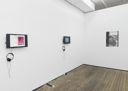 Installation View: The House on Weirdfield Street, Notebook 1 & 2