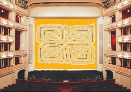 Safety Curtain 2014/2015 by Joan Jonas