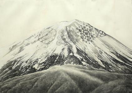 Crop mountain