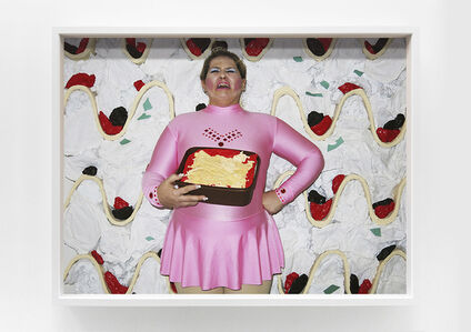 Self-portrait as Lasagna Harding by food'lebrities (Celebrities as Food Series)