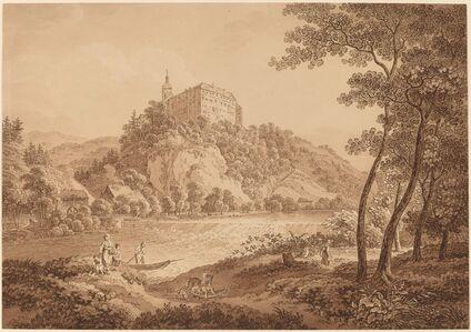 View of Castle Sachsenburg
