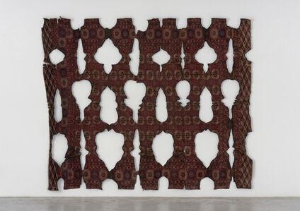 Untitled (burned carpet)