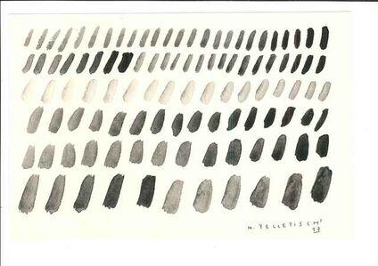 Black papers. Black Japanese ivory.