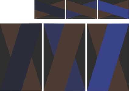 """""""Basic1"""" Rug Triptych"""
