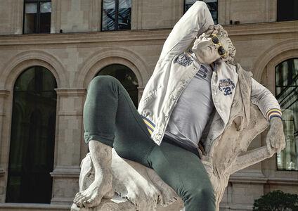 Hipster in Stone VI - The Barberini Faun