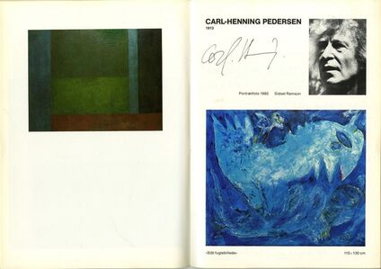 ARIS-KOBENHAVN CoBrA Catalog, Uniquely Hand Signed by 10 Artists