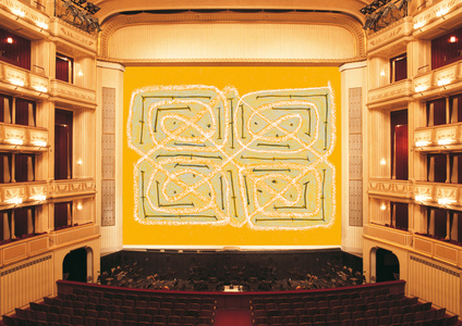 Safety Curtain 2014/2015 by Joan Jonas