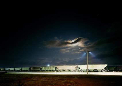 Untitled (VS-15-14) Night Train