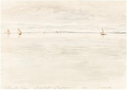 Sailboats on Southampton River