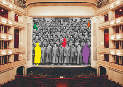 Safety Curtain 2017/2018 by John Baldessari