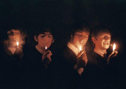 The Beatles, Cigarettes, Paris, March 1964